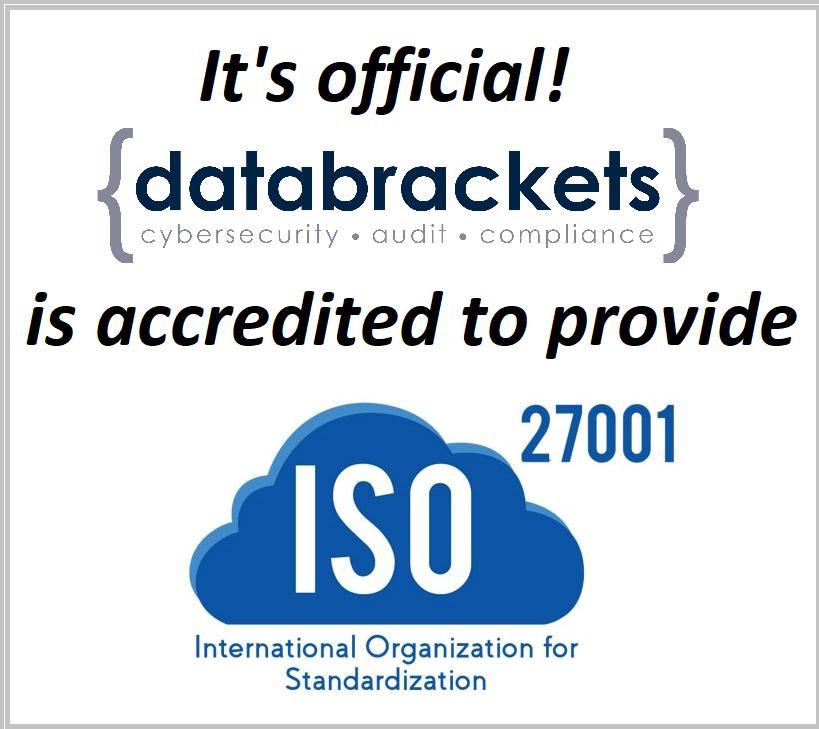 ISO 27001 Certification databrackets